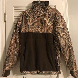 women's quarter zip drake jacket